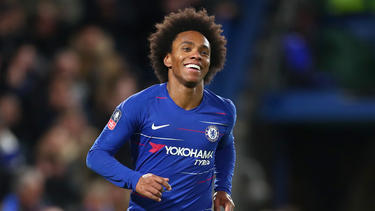 Willian brilló con un doblete. (Foto: Getty)