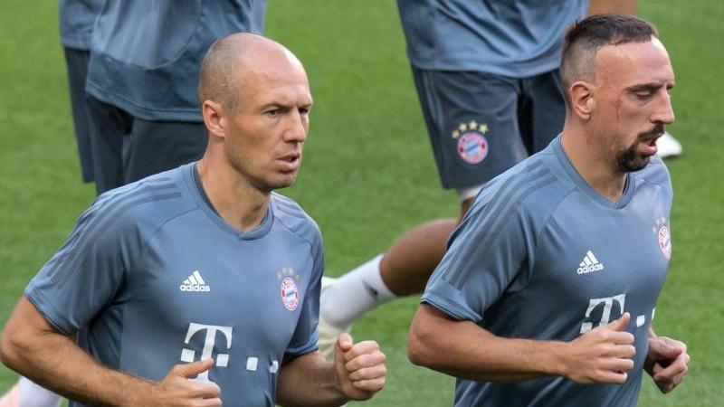 Prägten viele Jahre den FC Bayern: ArjenRobben (l.) und Franck Ribéry