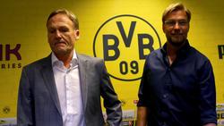 Jürgen Klopp war sieben Jahre lang Trainer bei Borussia Dortmund