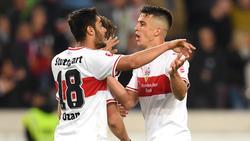 Sollen Thema auf Schalke sein: Ozan Kabak und Marc Oliver Kempf vom VfB Stuttgart