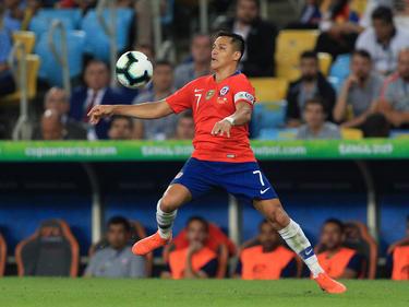Alexis Sánchez es titular indiscutible en la delantera chilena.