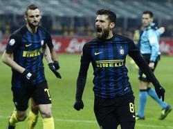 Inter siegte gegen Bologna
