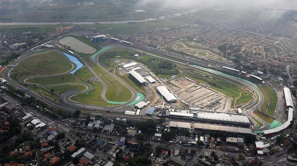 Auf dem Autódromo José Carlos Pace findet der Große Preis von Brasilien statt