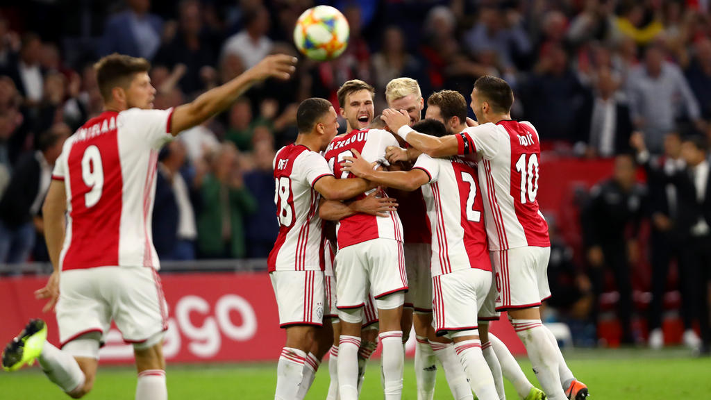 Ajax steht in den CL-Playoffs