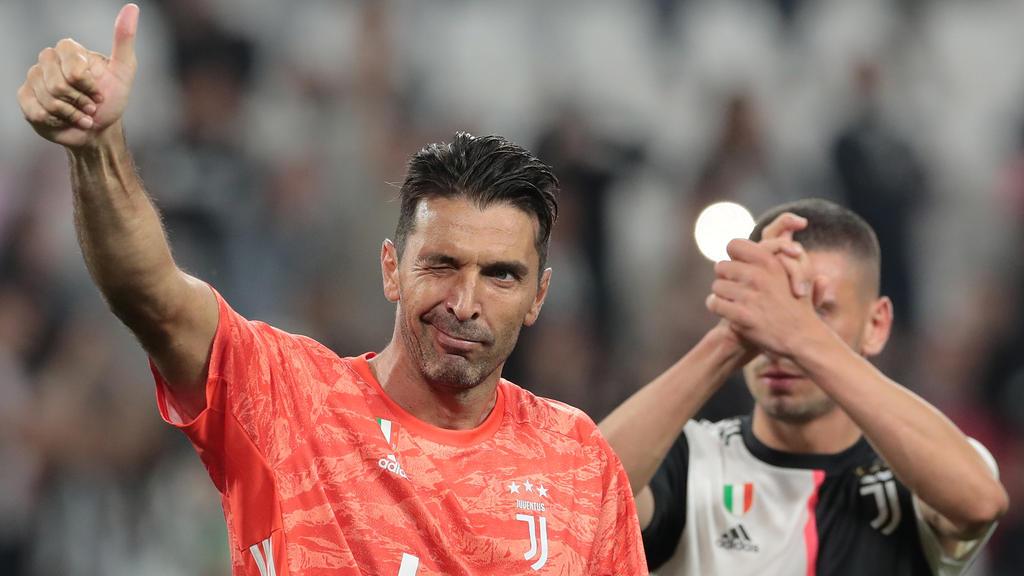 Buffon machte sein 902. Pflichtspiel in seiner Karriere