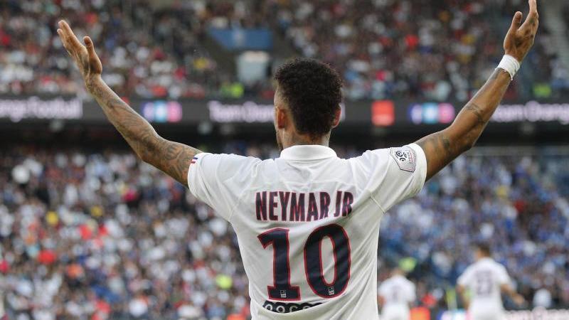 Mal wieder Mann des Tages: Neymar