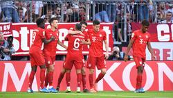 FC Bayern in der Bundesliga wieder in der Erfolgsspur