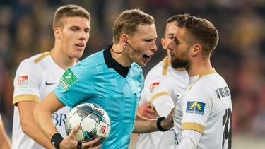 Wehen hat sich gegen die Wertung der Niederlage in Dresden gewehrt - am Ende ohne Erfolg