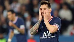 Lionel Messi wartet auf sein erstes Erfolgserlebnis im PSG-Trikot