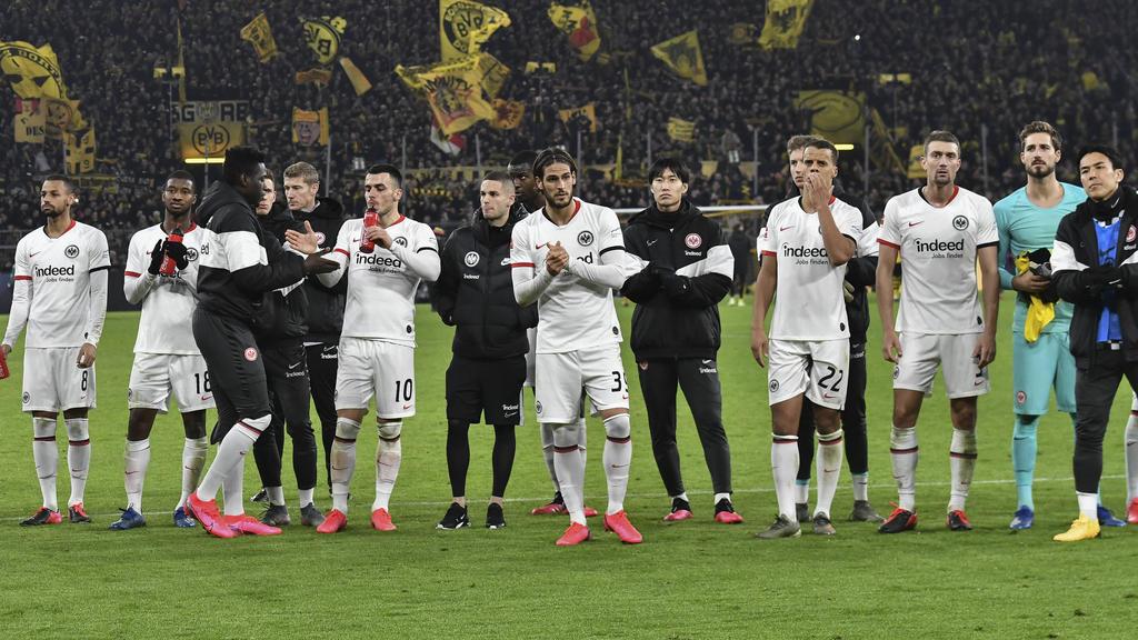 Eintracht Frankfurt kassierte beim BVB eine herbe Niederlage