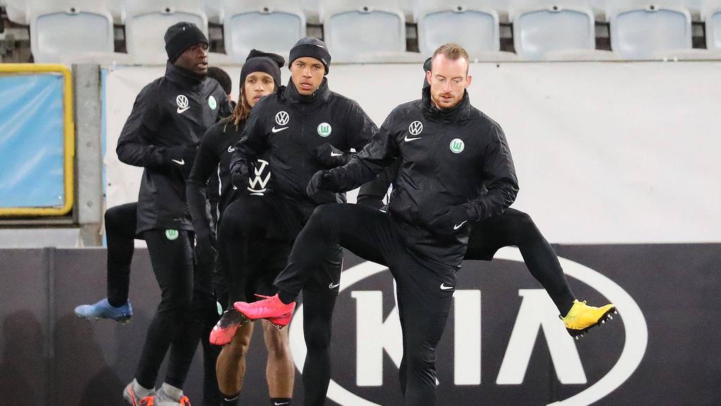 Beim VfL Wolfsburg wird trotz Spielpause weiter trainiert