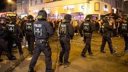 Die Fan-Feierlichkeiten in Bremen wurden von Randale überschattet