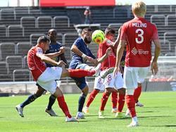 Espectacular regreso del Nimes a la Ligue 1.