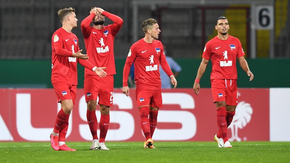 Hertha BSC flog in Braunschweig aus dem DFB-Pokal