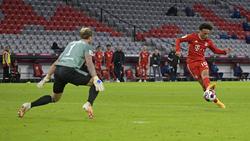 Auch Leroy Sané traf beim Kantersieg gegen Schalke 04 für den FC Bayern