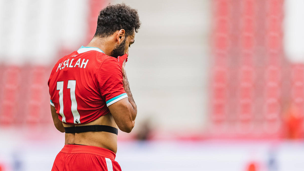 Schlimmer Abend für Mohamed Salah und den FC Liverpool