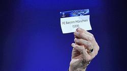 Der FC Bayern ist Stammgast bei der Auslosung zur Champions League