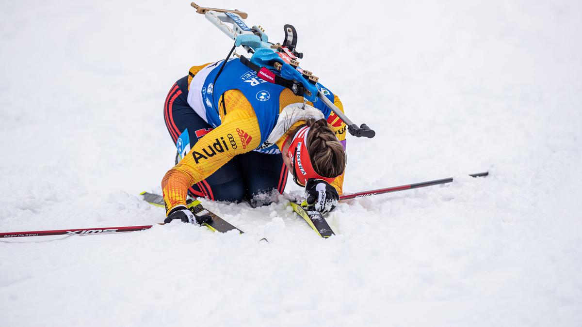 Deutschlands Biathlon-Stars um Denise Herrmann stecken aktuell in der Krise
