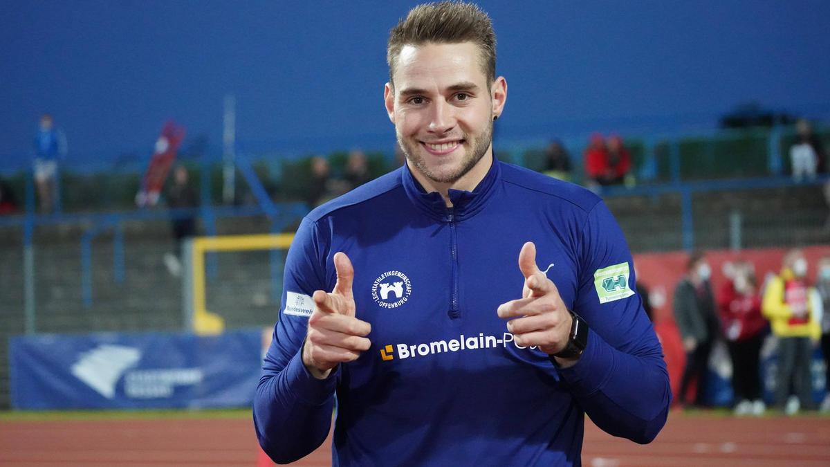 Johannes Vetter nähert sich dem deutschen Rekord