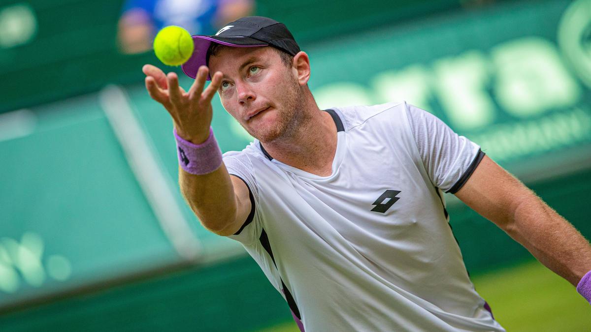 Dominik Koepfer gewann sein Auftaktmatch in Wimbledon