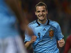 Im Dress der spanischen Nationalmannschaft