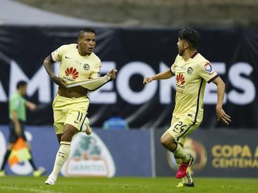 Las 'Águilas' del América celebran un gol. (Foto: Imago)