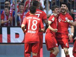 Los bávaros se las prometían muy felices con el tanto de Müller. (Foto: Getty)