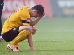 Anthony Losilla erlebte mit Dynamo Dresden den Abstieg