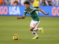 El futbolista mexicano Alan Pulido. (Foto: Getty)