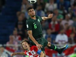 Leon Balogun freut sich auf seinen zweiten WM-Einsatz für Nigeria