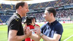 Thomas Tuchel (l.) und Niko Kovac treffen mit ihren Klubs aufeinander