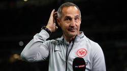 """Adi Hütter geht die Entwicklung in Frankfurt """"zu schnell"""""""