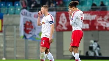 Traurige Mienen nach dem Ausscheiden aus der Europa League