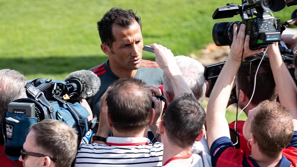 Hasan Salihamidzic, Sportdirektor des FC Bayern, steht zur Zeit im Fokus