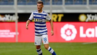 Thomas Blomeyer vom MSV Duisburg soll bei den Sportfreunden Lotte in der 3. Liga Spielpraxis sammeln