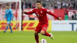 James Rodríguez no es titular indiscutible en el Bayern. (Foto: Getty)
