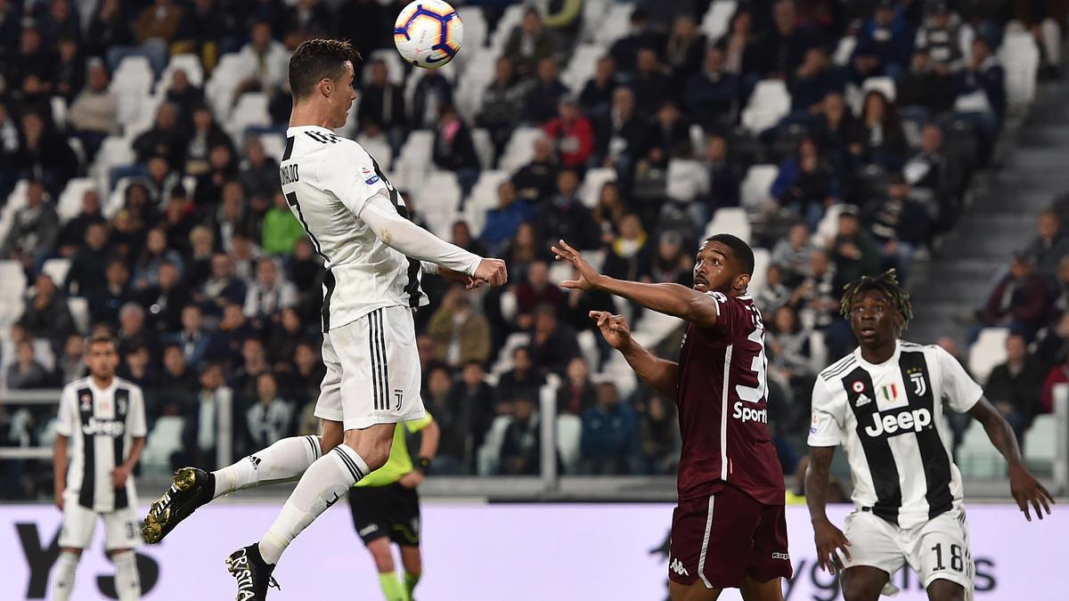 Ronaldo stellte einmal mehr seine Kopfballstärke unter Beweis