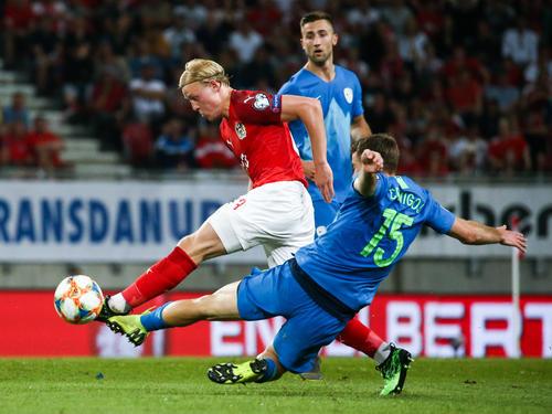 Österreich feierte einen knappen Sieg gegen Slowenien