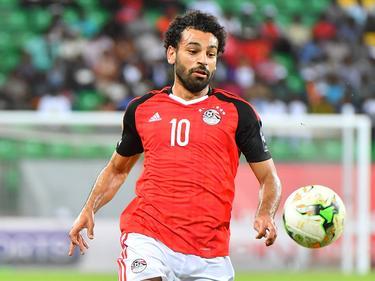 Mohamed Salah abrió el marcador para Egipto. (Foto: Imago)