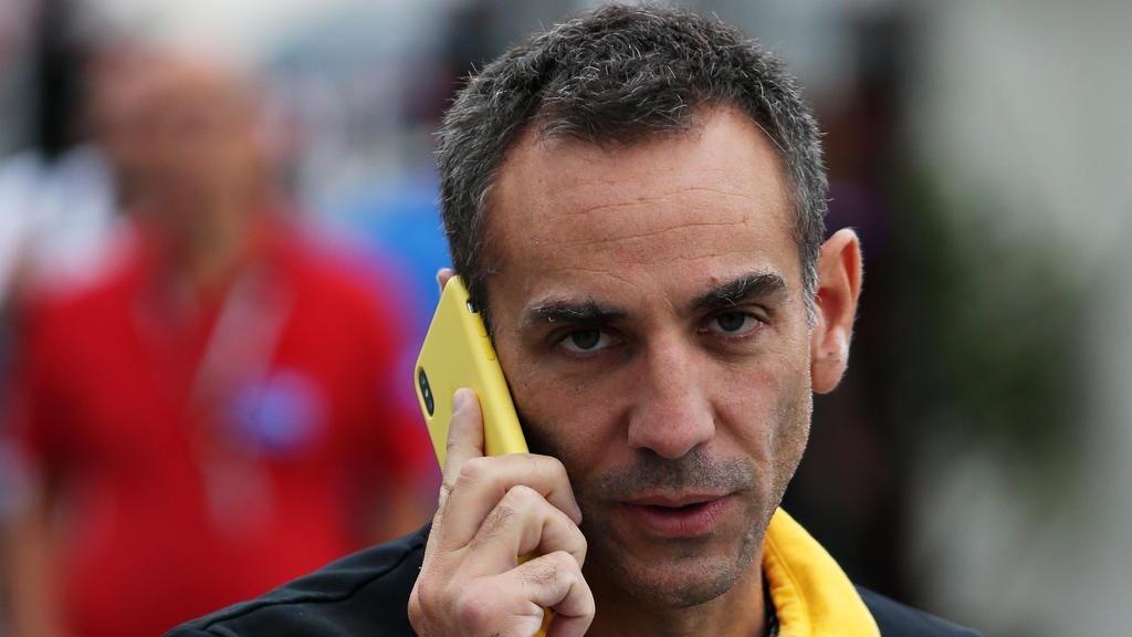 Cyril Abiteboul und Renault werden den vierten WM-Platz wohl verpassen