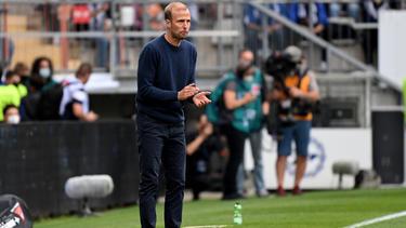 TSG-Coach Sebastian Hoeneß erwartet von sich und seiner Mannschaft mehr