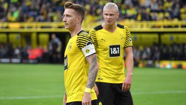 Der BVB muss gegen Gladbach auf Marco Reus und Erling Haaland verzichten