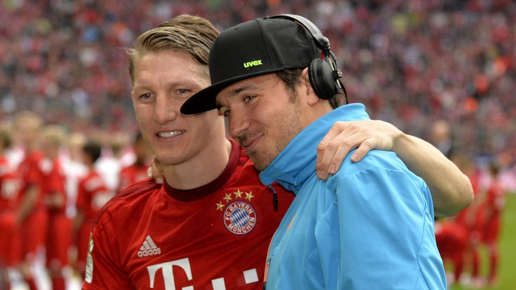 Beste Freunde: Bastian Schweinsteiger und Felix Neureuther
