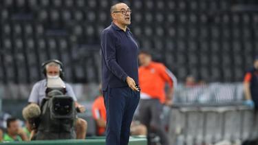 Musste mit Juventus Turin eine Niederlage in Udine hinnehmen: Trainer Maurizio Sarri