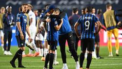 Atalanta musste sich PSG geschlagen geben