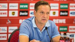Horst Heldt hat mit dem 1. FC Köln eine schwierige Phase zu meistern