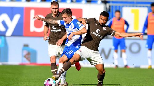Darmstadt 98 verspielte einen Vorsprung gegen den FC St. Pauli