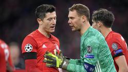 Sind die absoluten Führungsspieler beim FC Bayern: Robert Lewandowski und Manuel Neuer