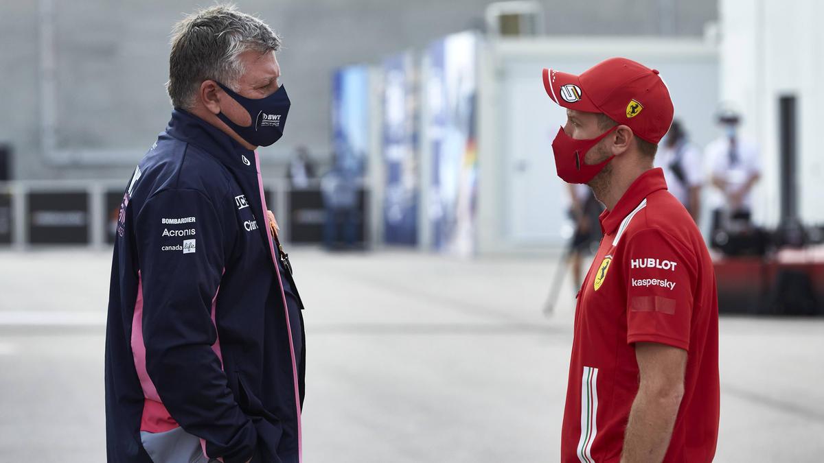 Arbeiten fortan in einem Team: Otmar Szafnauer (l.) und Sebastian Vettel