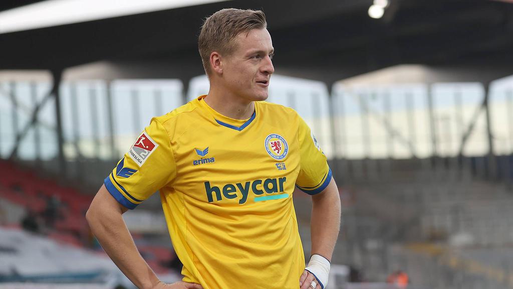 Felix Kroos sicherte Eintracht Braunschweig drei Punkte